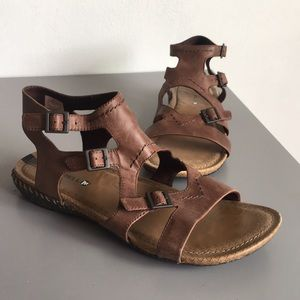 Merrell Brown Select Grip Sandal